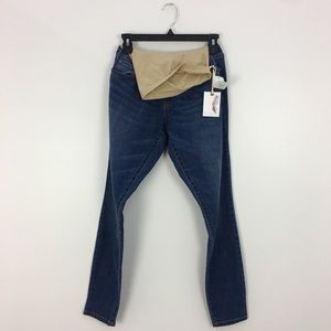 NWT Jessica Simpson Blue Denim Maternity Jeans